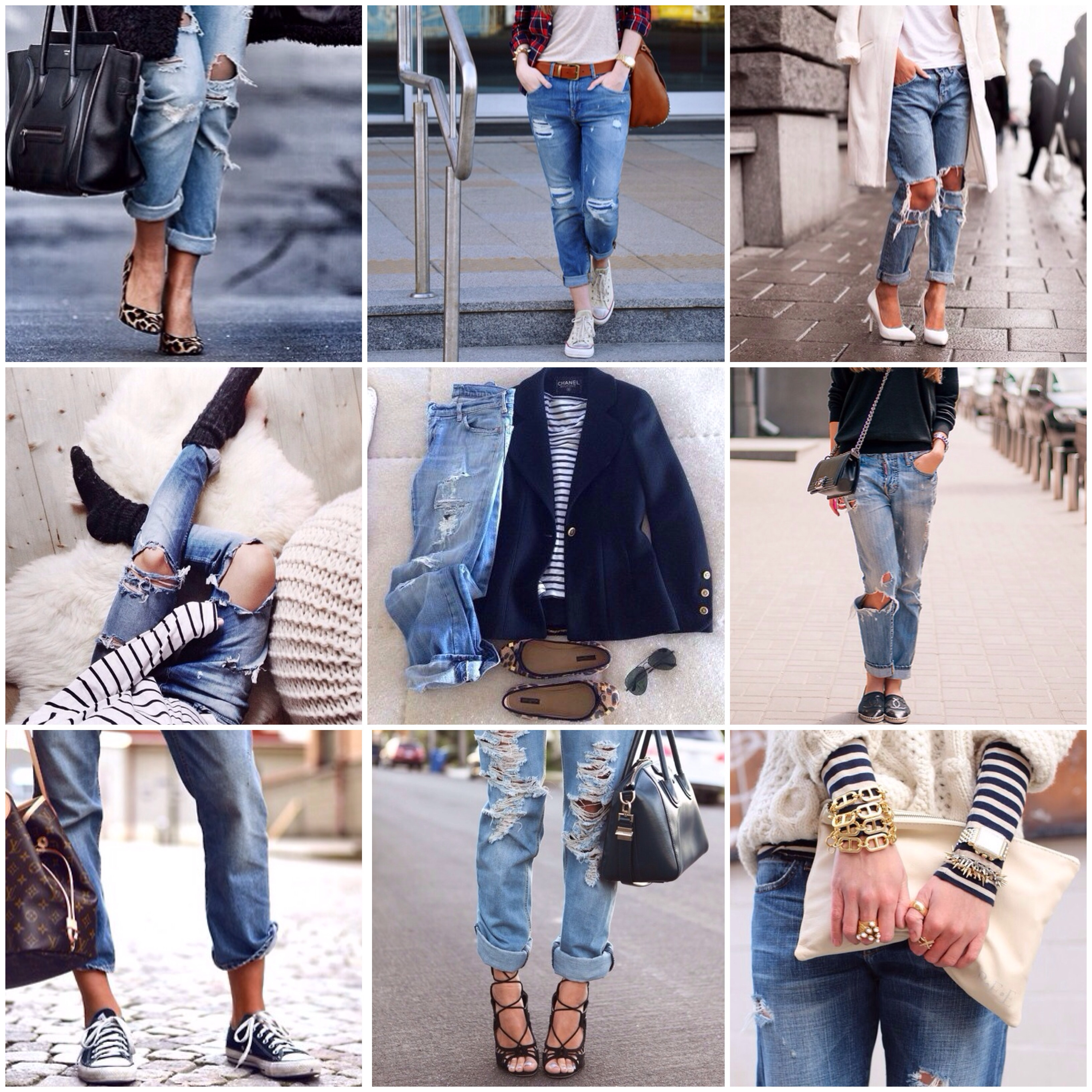 How to wear boyfriend jeans and converse pictures