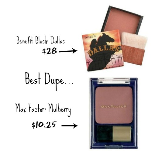 benefit  dallas dupe