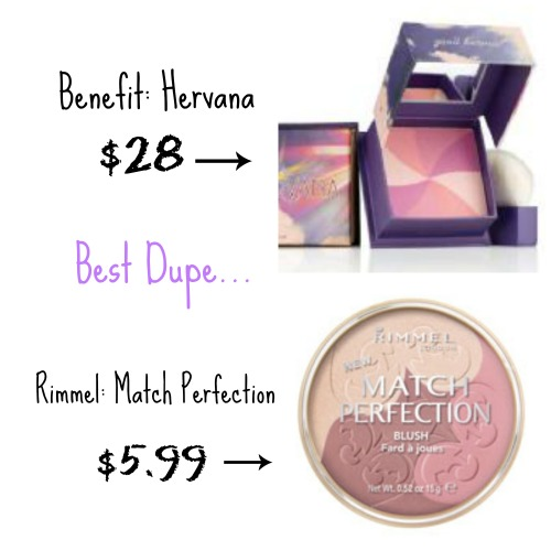 hervana blush dupe