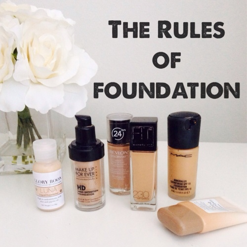 the rules of foundation