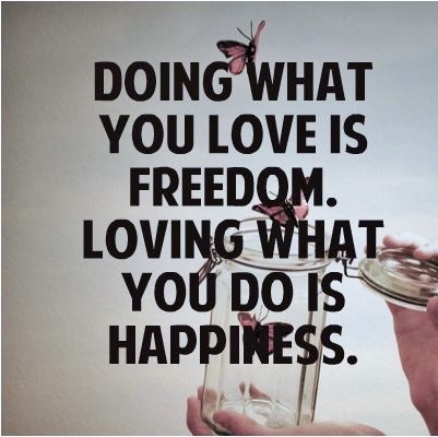 how to do what you love for a living
