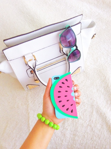 bethany mota watermelon iphone case